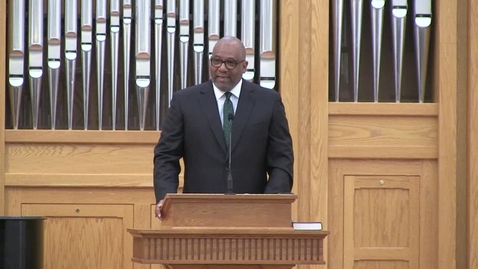 Thumbnail for entry African American Preaching Conference, Dr. Ralph West
