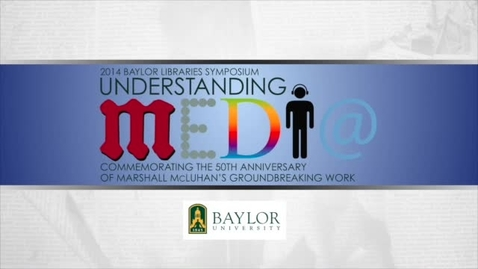 Thumbnail for entry Dr. Paul Levinson - The Medium of the Book: Fifty Years after Understanding Media - 2016 Keynote