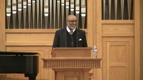 Thumbnail for entry E.K. Bailey Preaching Event 2020 - Rev. James P. Thompson Jr.