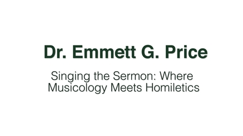 Thumbnail for entry Dr. Emmett G. Price