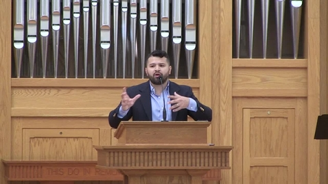 Thumbnail for entry Truett Chapel Eric Hernandez, BGCT Day (11.12.19)