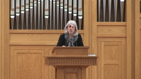 Thumbnail for entry Truett Chapel, Fleming Rutledge (9.17.19; Parchman Lecture Series)