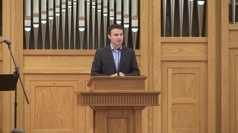 Thumbnail for entry Truett Chapel, Dr. Collin Bullard (10.15.19)