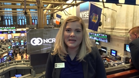 Thumbnail for entry Baylor MBA is at the NYSE for Opening Bell!