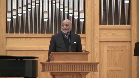 Thumbnail for entry Truett Chapel, Rev. James P. Thompson Jr. (01/28/2020)