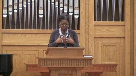Thumbnail for entry African American Preaching Conference, Dr. Wanda Bolton-Davis