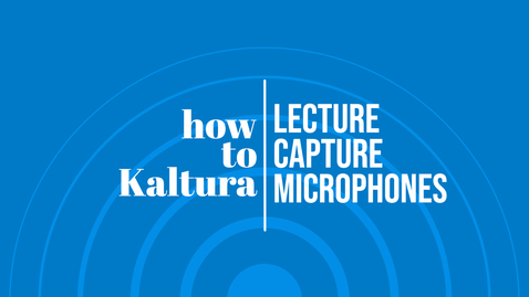 Thumbnail for entry Type 1 Touch Panel Classroom - Using Microphones