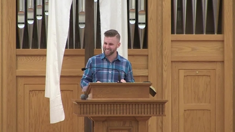 Thumbnail for entry Student Awards Chapel feat. Scotty Swingler Preaching