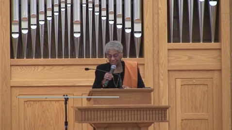 Thumbnail for entry Bishop Anne Henning Byfield - Pastor of the Day