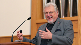 """Thumbnail for entry Rev. Canon Professor Richard Burridge - """"Finding the One Jesus Through Reading the Four Gospels"""""""