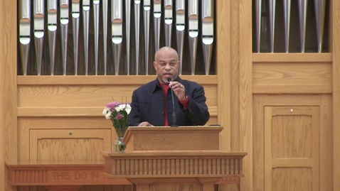 Thumbnail for entry E.K. Bailey Preaching Event Chapel Service feat. Rev. Dr. John K. Jenkins Sr.