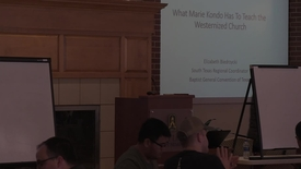 "Thumbnail for entry Elizabeth Biedrzycki -- ""What Marie Kondo Has To Teach the Westernized Church"""