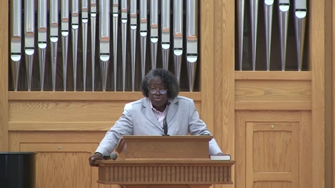 Thumbnail for entry African American Preaching Conference, Dr. Carolyn Knight