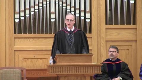 Thumbnail for entry Truett Seminary Spring 2019 Convocation