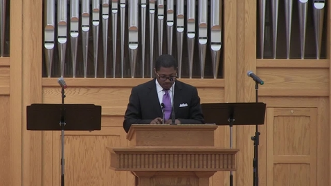 Thumbnail for entry Jeremiah Parks - Outstanding Student Preacher