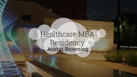 Thumbnail for entry What makes Baylor's Healthcare MBA Standout?