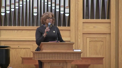 Thumbnail for entry African American Preaching Conference, Bishop Vashti McKenzie
