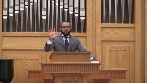 Thumbnail for entry African American Preaching Conference, Dr. Phillip Pointer