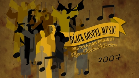 Thumbnail for entry Black Gospel Archive Promo