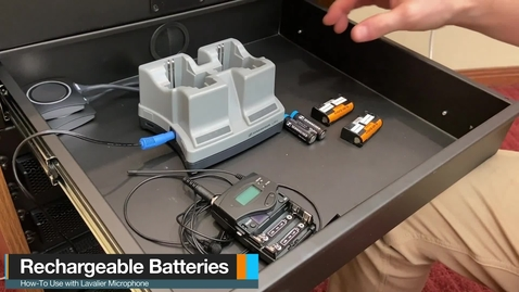 Thumbnail for entry Type 1 Classroom - How to Use Rechargeable Battery Packs