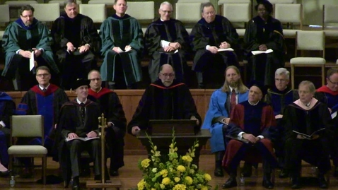 Thumbnail for entry Dr. Gloer Commencement Sermon - Spring 2018