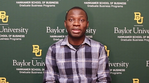 Thumbnail for entry Scholarships for the Baylor MBA