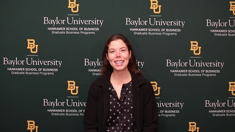 Thumbnail for entry Living in Waco While in the Baylor MBA