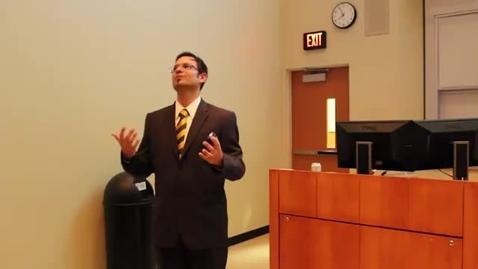 Thumbnail for entry Jonklass, Mark - 2015 Collins Outstanding Professor