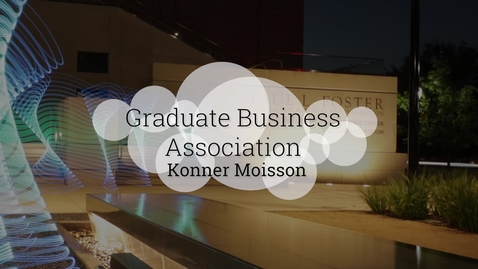 Thumbnail for entry Baylor's Graduate Business Association