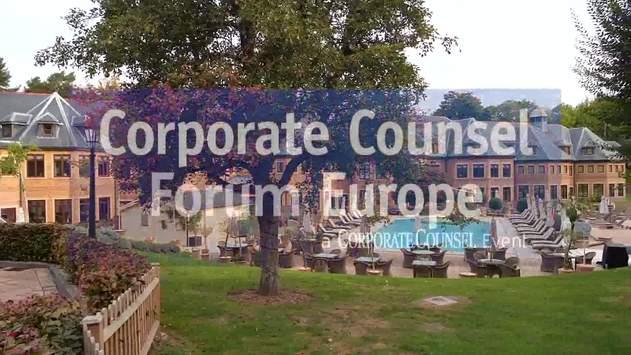 Corporate Counsel Forum Europe (CCFE) 2019