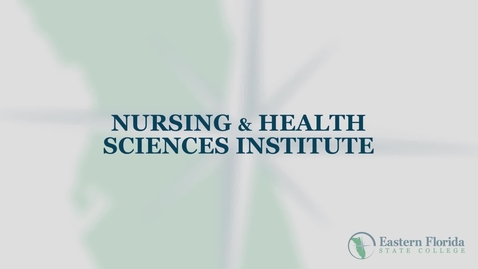 Thumbnail for entry Nursing & Health Programs at EFSC