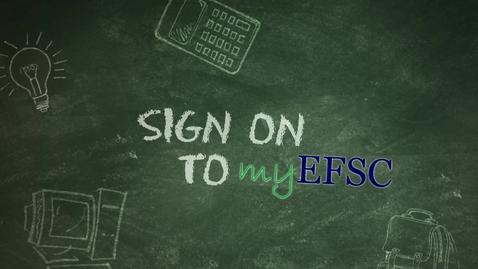 Thumbnail for entry myEFSC Login Tutorial