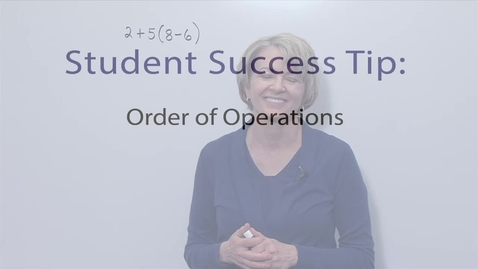 Thumbnail for entry Module 02 Order of Operations