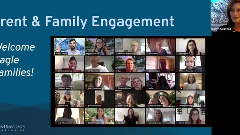 Thumbnail for entry Parent and Family Engagement at AU