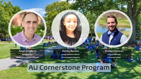 Thumbnail for entry AU Cornerstone Program