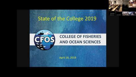 CFOS Faculty Meeting