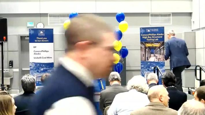 UAF Engineering Learning and Innovation Facility Ribbon Cutting