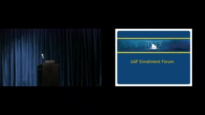 Chancellor's Forum on Enrollment 1