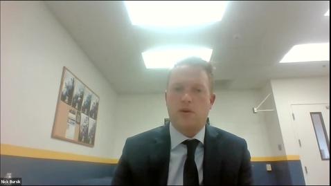 Thumbnail for entry UAF Athletic Director Candidate Forum: Nick Bursik