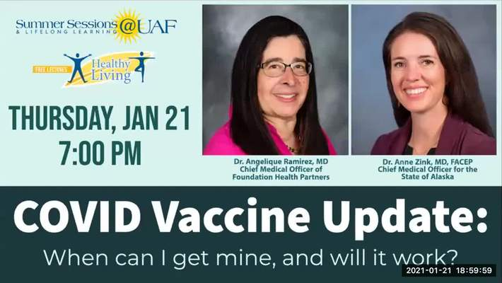 Virtual Healthy Living Forum: COVID Vaccination Update
