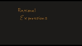 Thumbnail for entry MATH F151 –  Rational Expressions.mp4