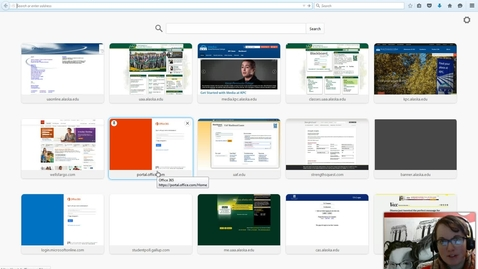 Thumbnail for entry Accessing Webmail