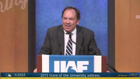 Thumbnail for entry 2015 State of the University Address