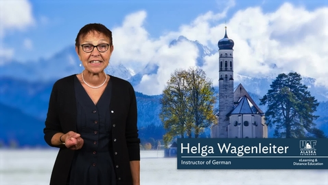 German 101: Introduction to the Course