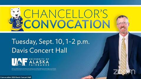 UAF Chancellor's Convocation 2019
