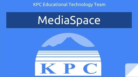 KPC's MediaSpace