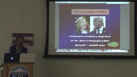 Thumbnail for entry Media Ethics - Art 194 - University of Alaska, Kenai KPC-Ron Levy