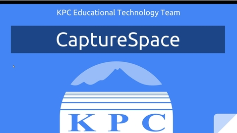 Thumbnail for entry CaptureSpace Screen Recorder