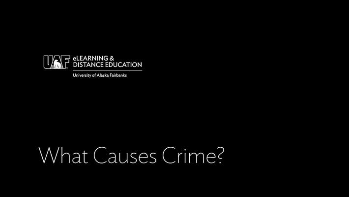 What Causes Crime - 1-18