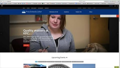 Thumbnail for entry UA Online Grading